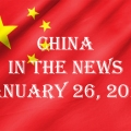 China in the News January 26, 2021