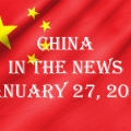 China in the News January 27, 2021