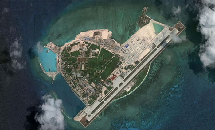 China's military base on Woody Island in the South China Sea