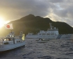 Chinese and Japanese ships sail near Senkaku Islands