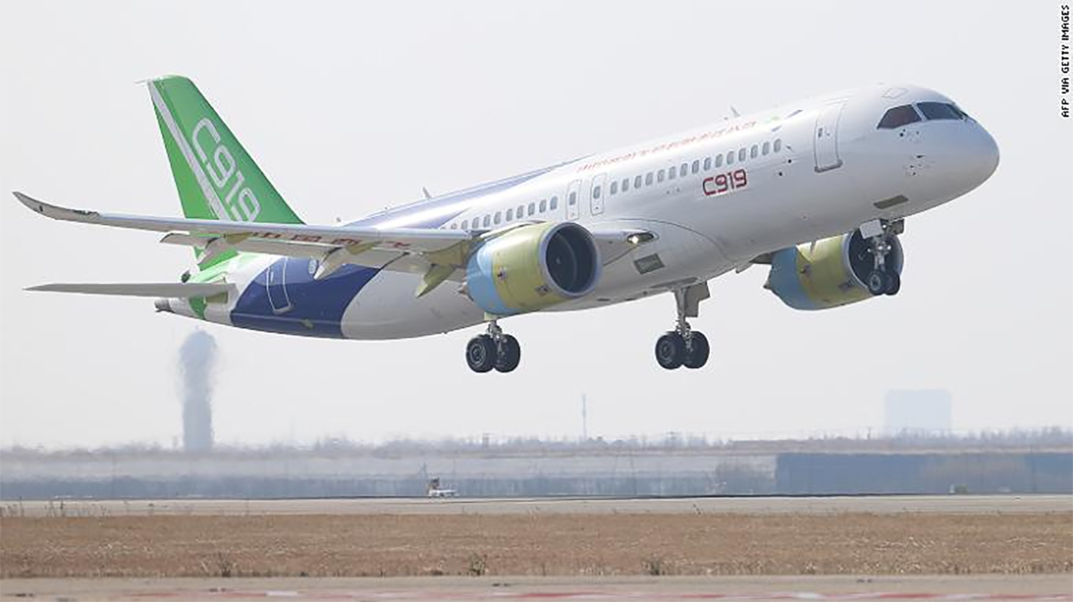 China's COMAC C919 Finishes Extreme Low Temperature Tests