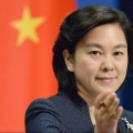 Foreign Ministry spokeswoman Hua Chunying