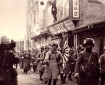 Japanese Army enters city in Manchuria, 1931