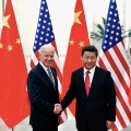 Joe Biden and Xi Jinping