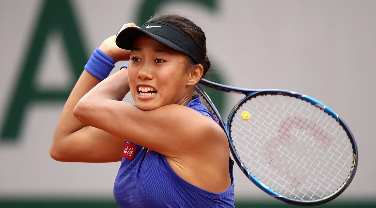 January 21, 1989 – Birth of Zhang Shuai, Chinese tennis player
