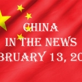 China in the News February 13, 2021