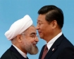 Chinese President Xi Jinping and Iranian President Hassan Rouhani