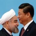 Chinese President Xi Jinping and Iranian President Hassan Rouhani
