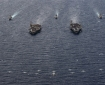 The Theodore Roosevelt and Nimitz carrier strike groups carried out manoeuvres in the South China Sea last week.
