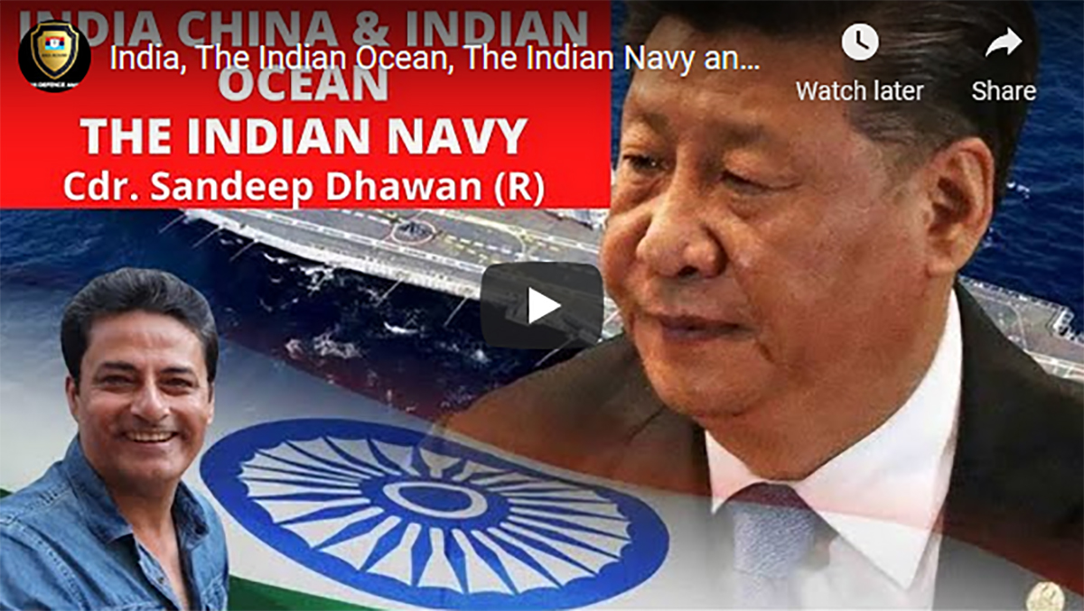 My Interview With Leading Analyst: India, The Indian Ocean, The Indian Navy and China