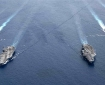 The US navy conducted a dual-aircraft carrier exercise in the South China Sea last year