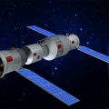 Artist's impression of Tiangong