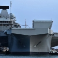 UK military planners plans to station HMS Queen Elizabeth in the Pacific as part of an alliance to counter China