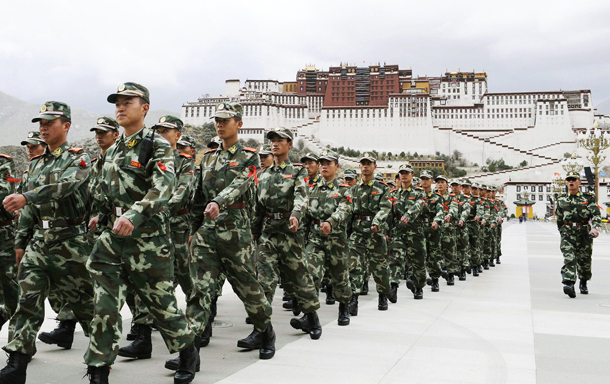 China orders one member of each Tibetan family to enlist in the military to fight against India
