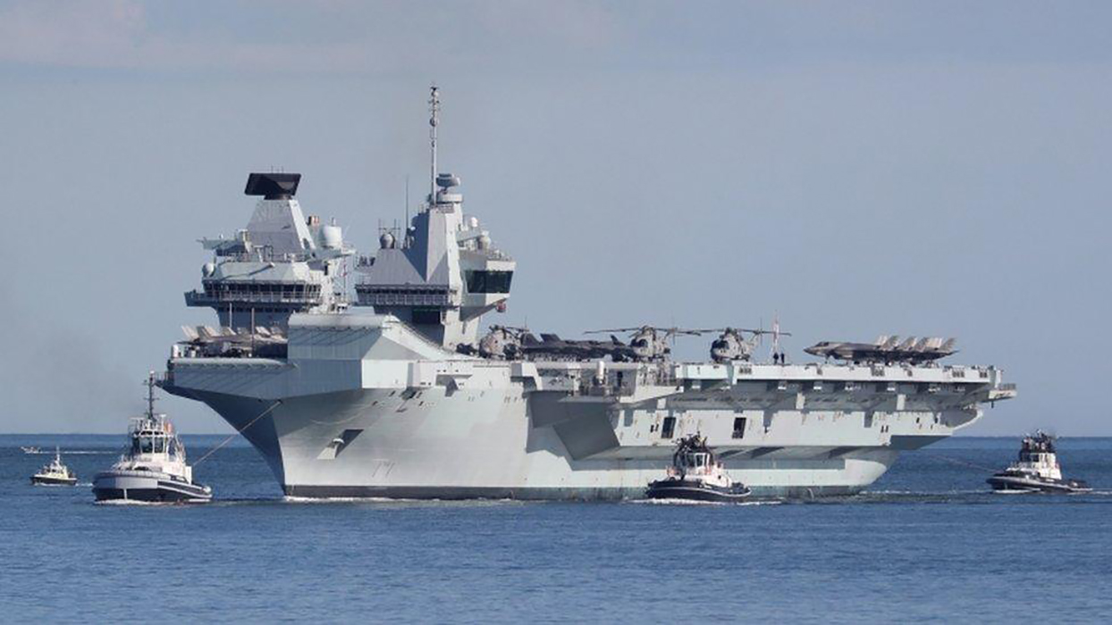 China warns UK as carrier strike group approaches South China Sea
