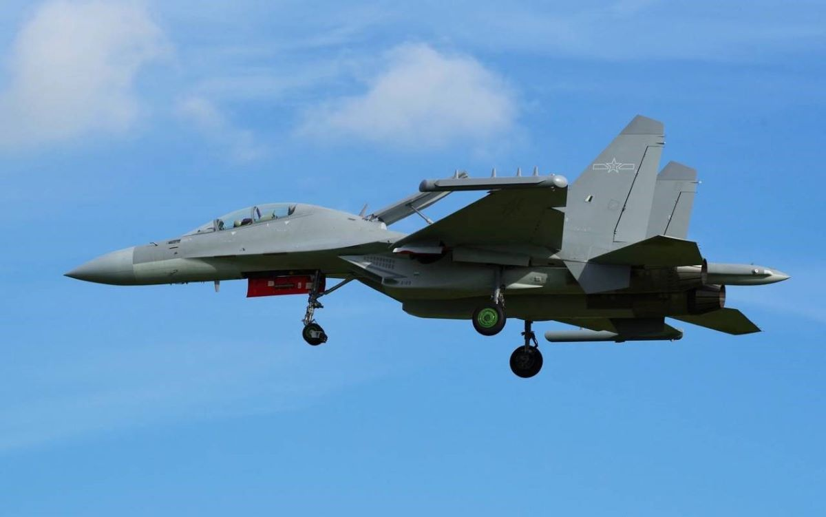China's electronic warfare aircraft J-16D spotted near Taiwan; experts say India border could benext