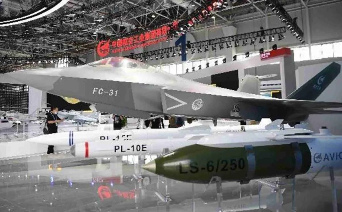 China says its J-31 is superior to F-35, and will be new carrier-borne fighter jet