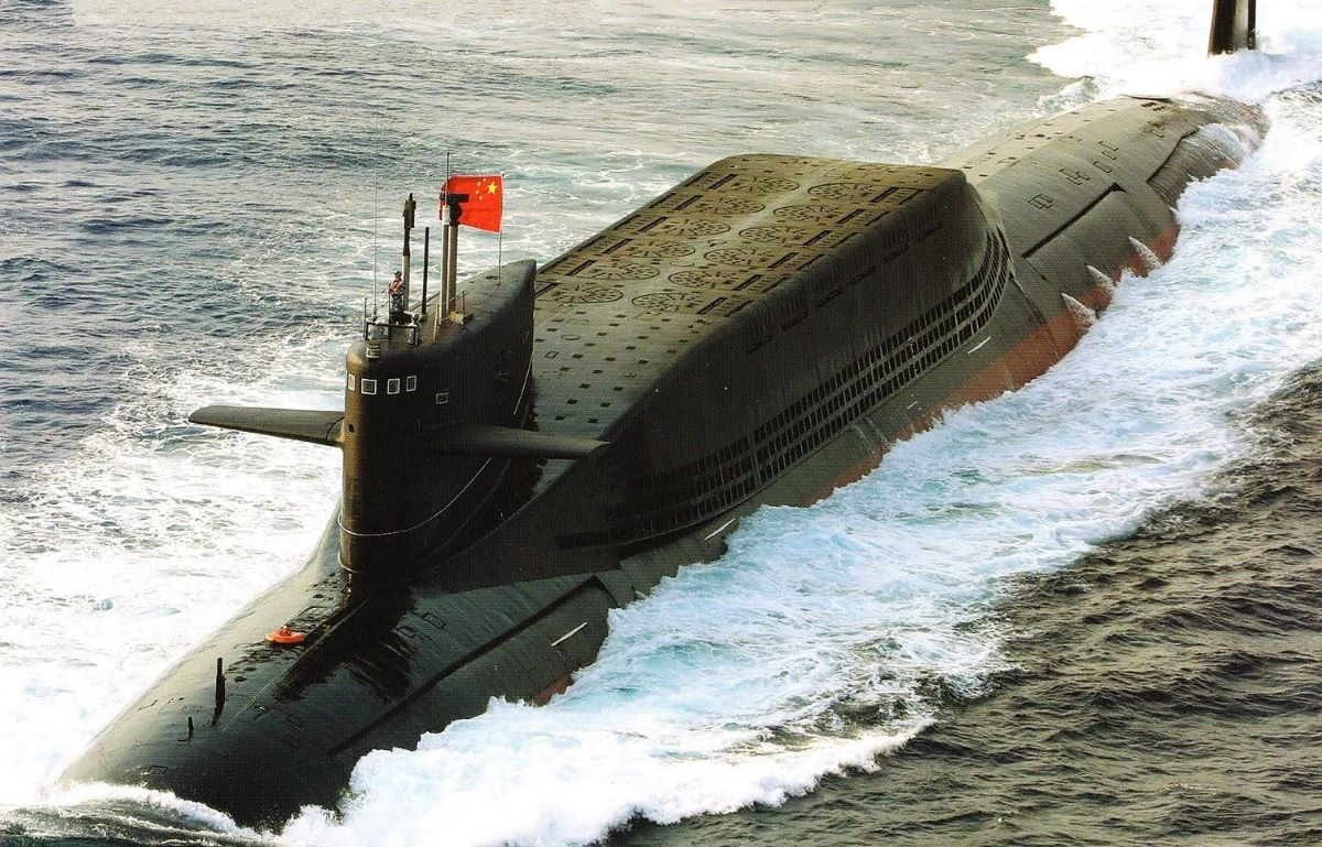 China 'making its nuclear submarines harder todetect'